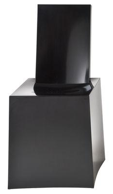 Chaise Miss Less / Plastique - Kartell noir en matière plastique