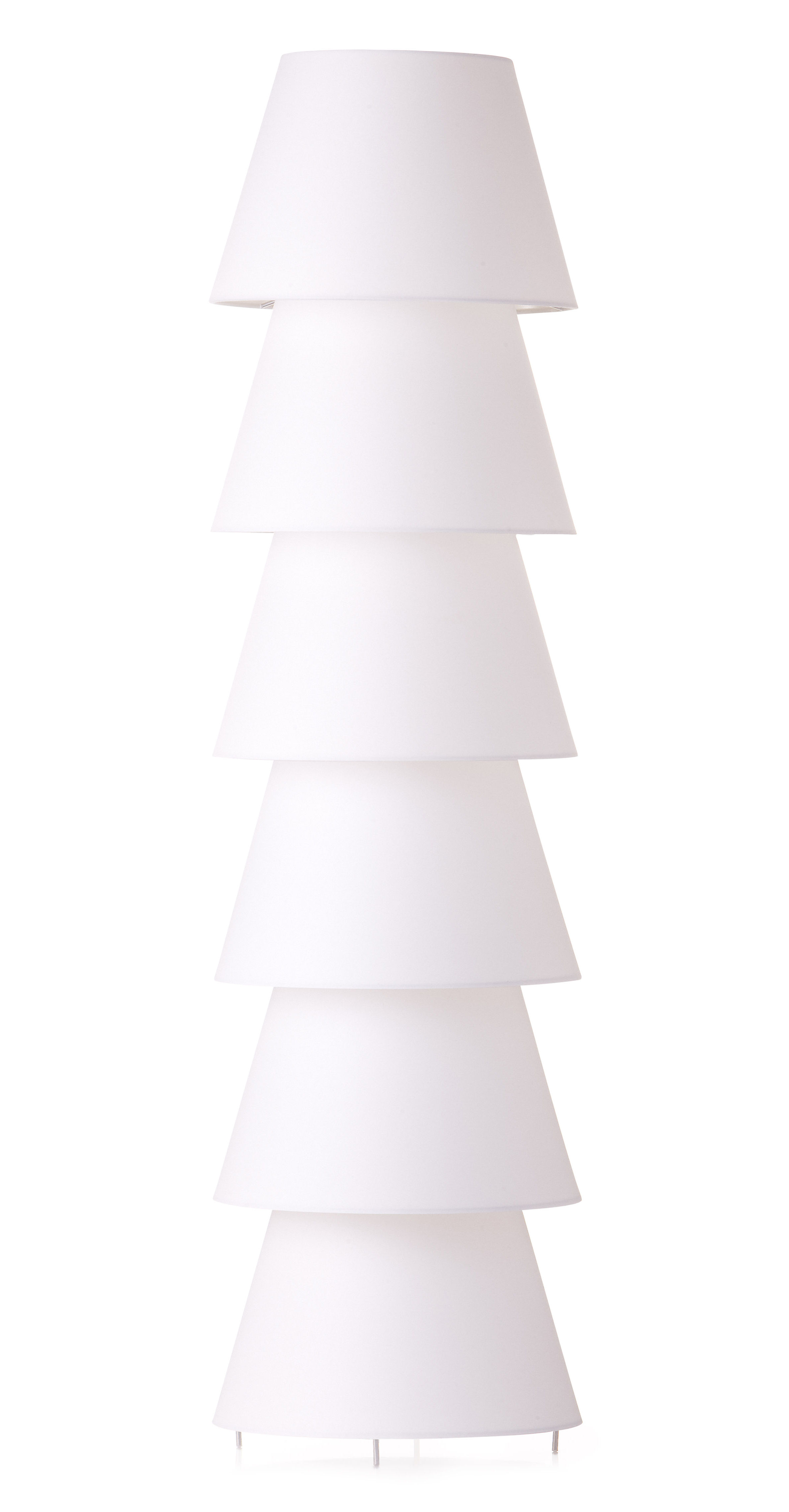 Lighting - Floor lamps - Set Up Shade Floor lamp by Moooi - H 116 cm - Cotton