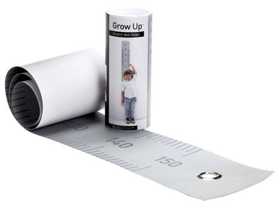 Decoration - Children's Home Accessories - Grow up Height gauge - 50 to 150 cm by Pa Design - Grey - Cardboard, Paper