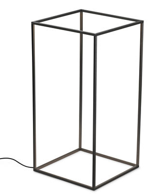 Lampe Ipnos LED / H 70 cm - Version Outdoor - Flos noir en métal