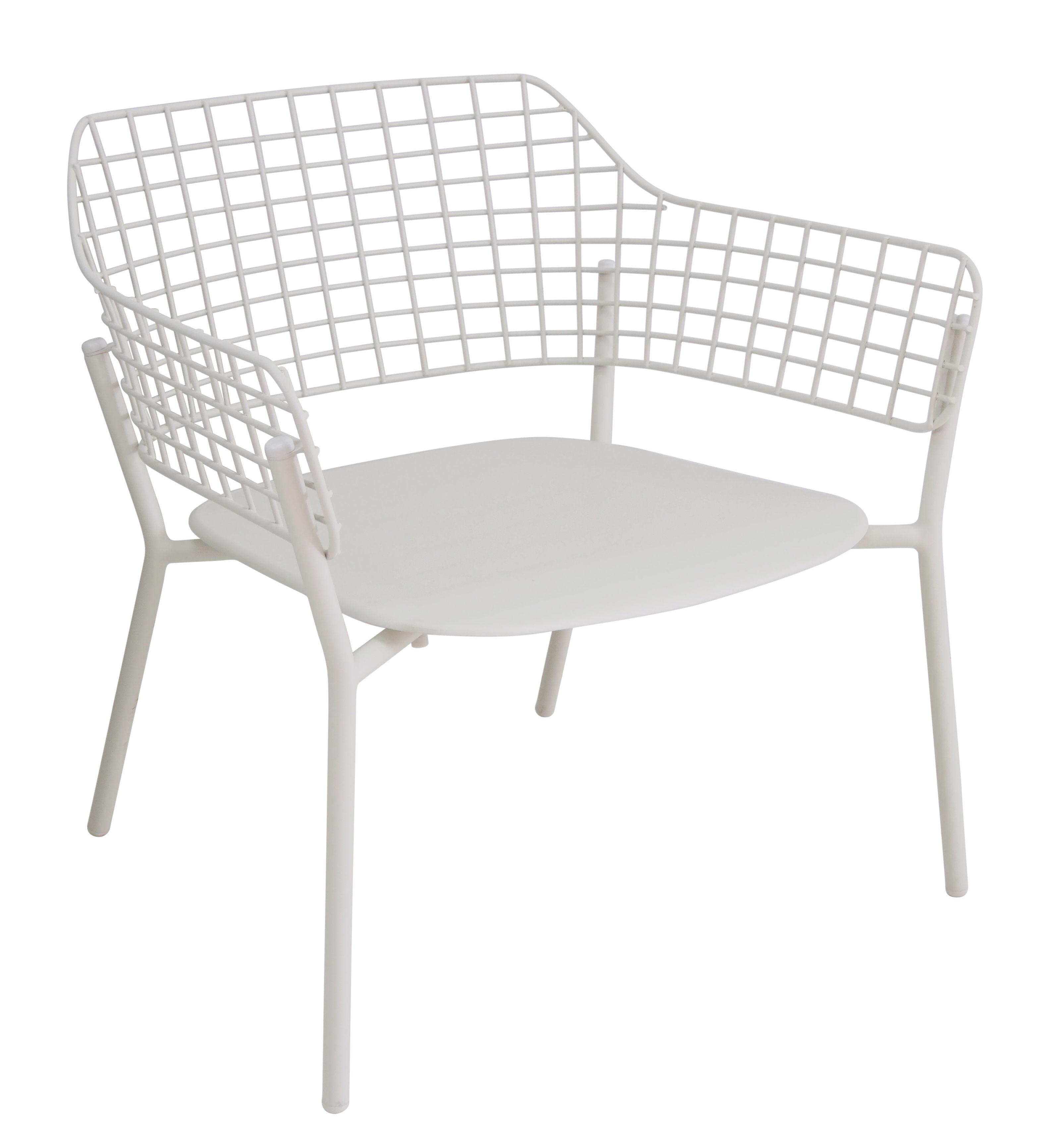 Lounge Sessel Lyze Von Emu Weiß L 76 X H 73 Made In Design