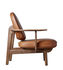 JH97 Low armchair - by Jaime Hayon / Leather by Fritz Hansen