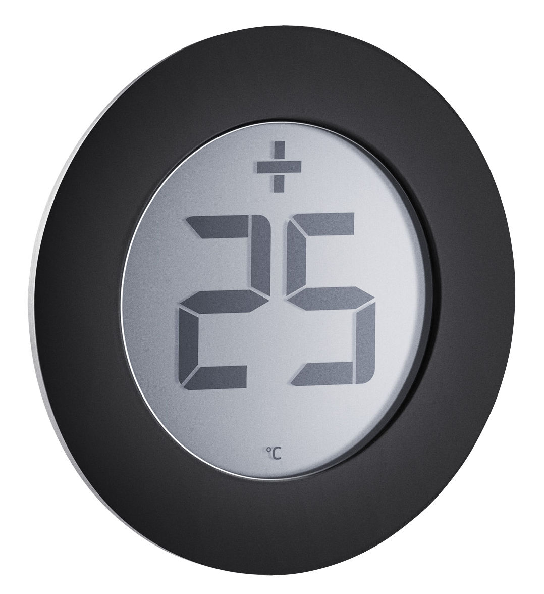 Outdoor - Ornaments & Accessories - Outdoor thermometer - / Sticker - For window by Eva Solo - Steel & black - Steel, Thermoplastic