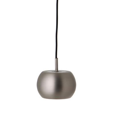 Lighting - Pendant Lighting - BF20 Small Pendant - / Ø 15 cm by Frandsen - Matt brushed satin - Acrylic, Metal
