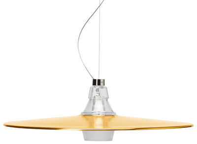 Crash Pendelleuchte / Ø 60 cm x H 19 cm - Diesel with Foscarini - Bronze