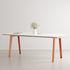 New Modern Rectangular table - / 190 x 95 cm - Laminate / 8 to 10 people by TIPTOE