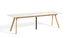 Table à rallonge CPH 30 / L 160 à 310 cm x larg. 80 cm - Linoleum - Hay