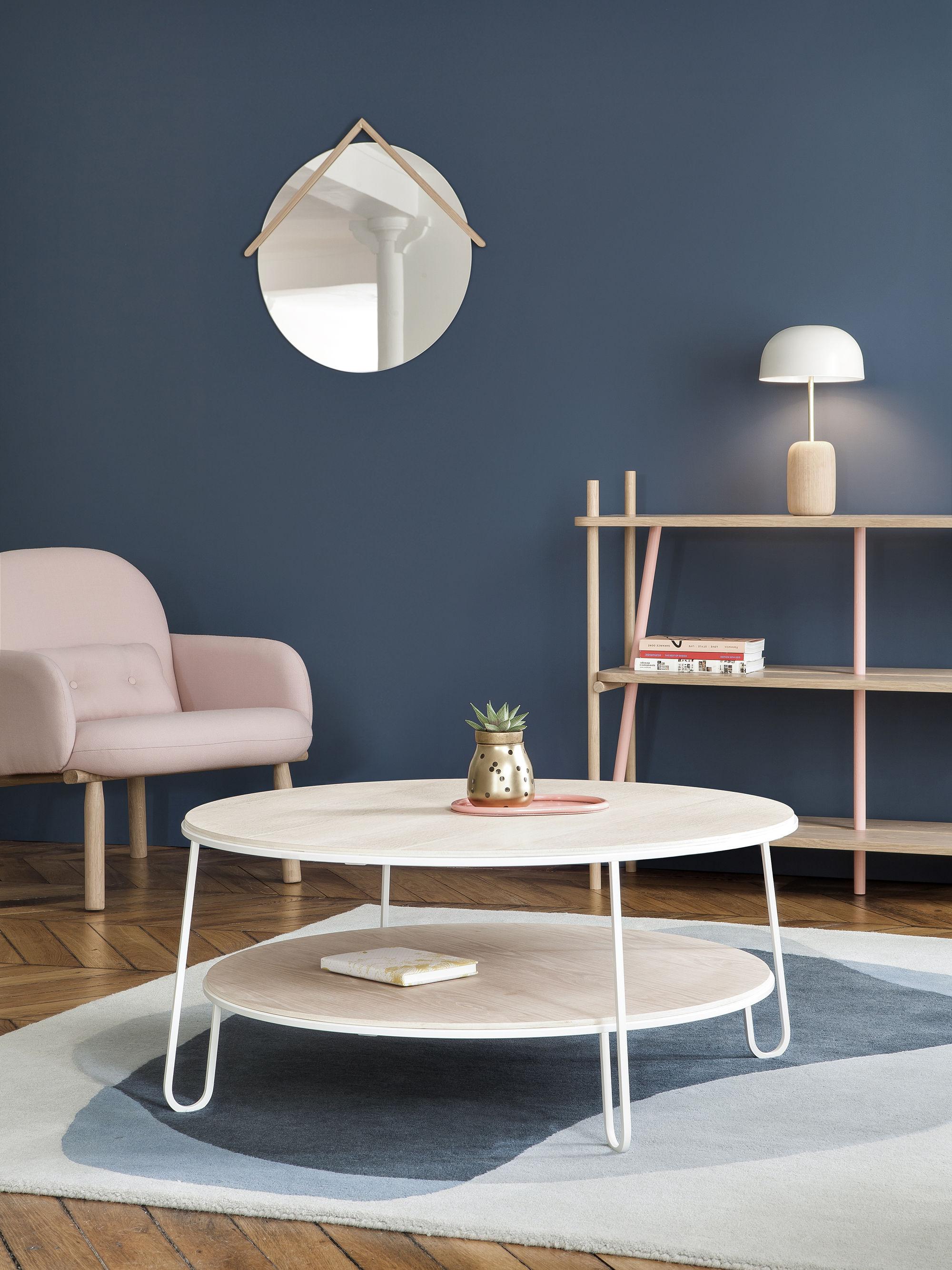 table basse eug nie large 90 marbre blanc marbre hart made in design. Black Bedroom Furniture Sets. Home Design Ideas