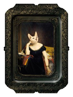 Tischkultur - Tabletts - Visconti Victoire Tablett Gemälde - H 45 cm - Ibride - Victoire - massive Press-Spanplatte