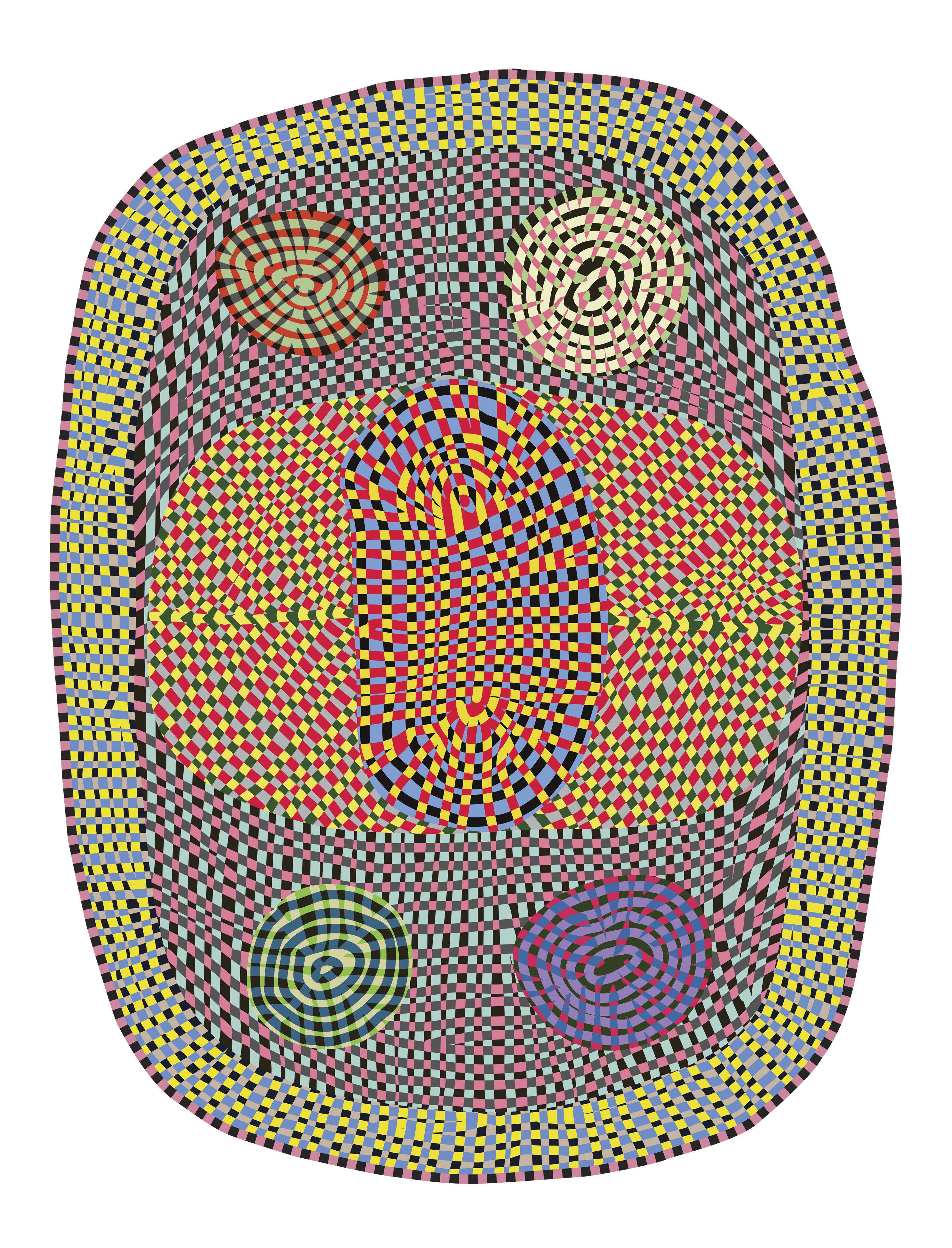 Dekoration - Teppiche - Wild Teppich / 225 x 295 cm - Moooi Carpets - Mehrfarbig - Polyamid