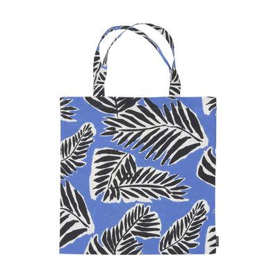 Accessoires - Sacs, trousses, porte-monnaie... - Tote bag Babassu / Coton - Marimekko - Babassu / Bleu & noir - Coton