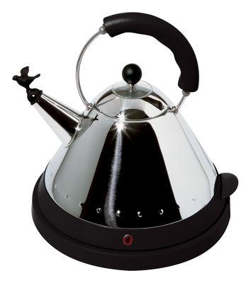 Küche - Elektrogeräte - Oisillon Wasserkocher - Alessi - Schwarz - Polyamid, rostfreier Stahl