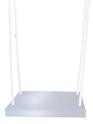 Outdoor - Déco et accessoires - Balançoire Altalena - Slide - Blanc / Cordes blanches - Nylon, Polyéthylène recyclable