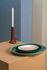Spartan Candle stick - / Ø 9.5 x H 22 cm by Pols Potten