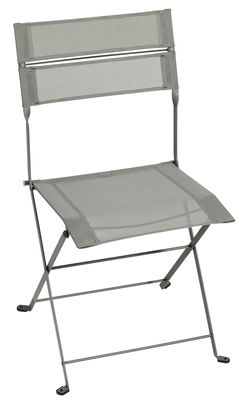 Chaise pliante Latitude / Toile - Fermob romarin en tissu