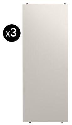 Etagère String® System / L 78 x P 30 cm - Set de 3 - String Furniture beige en bois