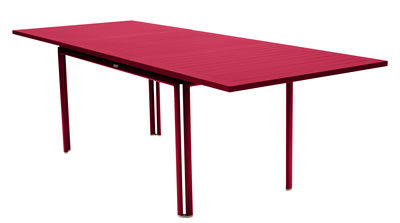 Outdoor - Garden Tables - Costa Extending table - / L 160 to 240 cm - 6 to 10 people by Fermob - Praline pink - Lacquered aluminium