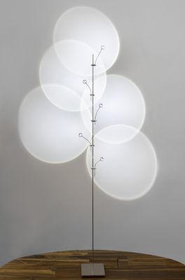 Wa Wa Floor lamp - Floor lamp Silver by Catellani & Smith | Made In ...