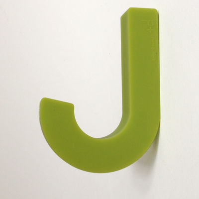 Furniture - Coat Racks & Pegs - Gumhook Hook by Pa Design - Anise - Silicone