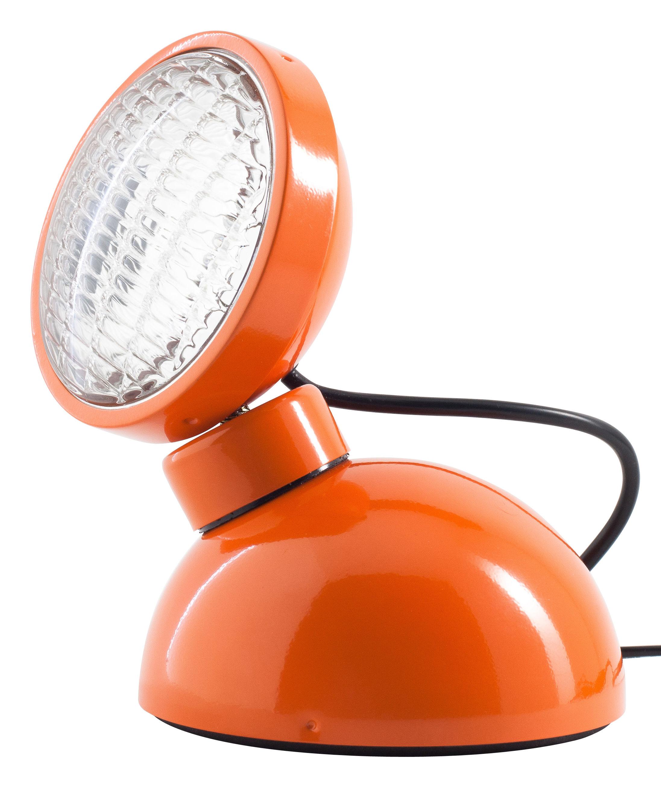 Luminaire - Lampes de table - Lampe de table 1969 - Azimut Industries - Orange - Métal laqué
