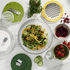 Set préparation de salade Multi-Prep / 4 en 1 : essoreuse, spiraleur, éminceur et râpe - Joseph Joseph