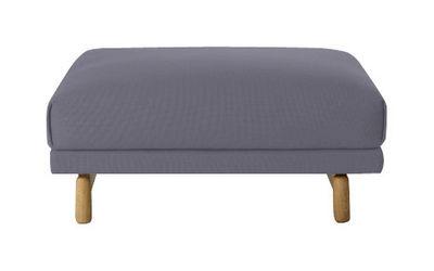 Möbel - Sitzkissen - Rest Sitzkissen - Muuto - Grau - Kvadrat-Stoff
