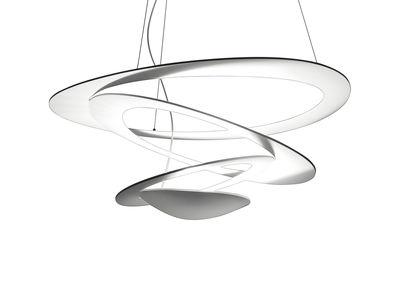 Illuminazione - Lampadari - Sospensione Pirce Micro - LED / Ø 48 cm di Artemide - Blanc - alluminio verniciato