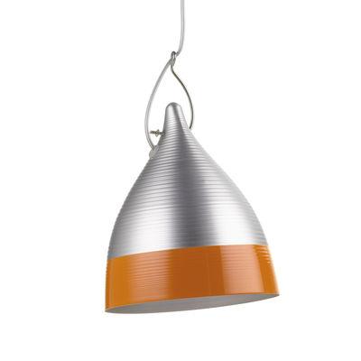 Suspension Cornette - Tsé-Tsé orange/métal en métal