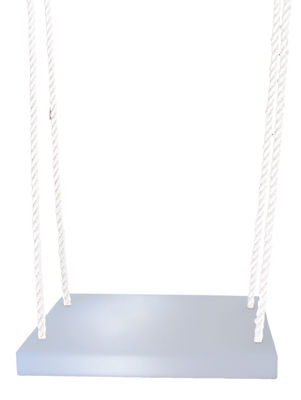 Outdoor - Ornaments & Accessories - Altalena Swing by Slide - White / White ropes - Nylon, Polyéthylène recyclable