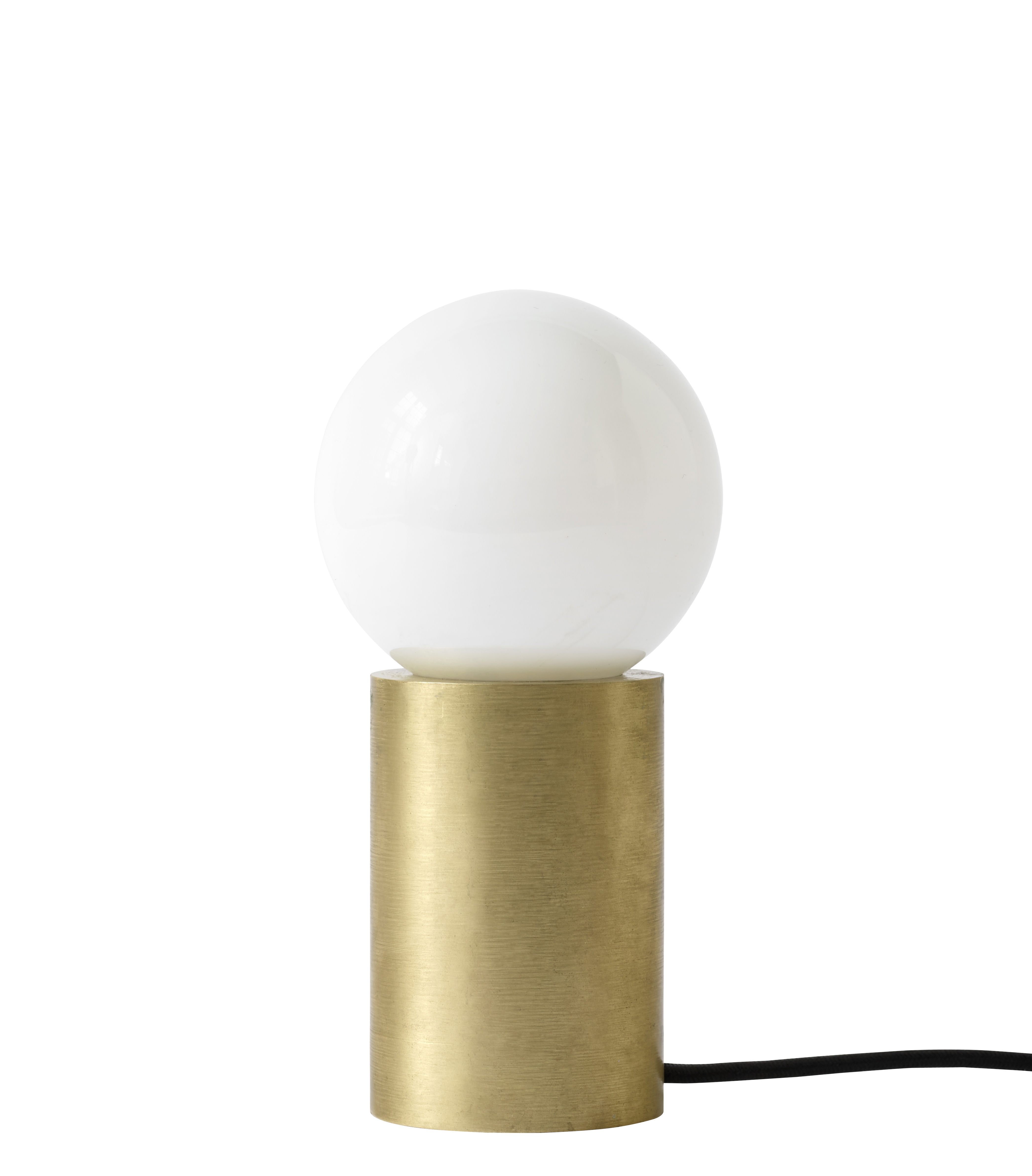 Lighting - Table Lamps - Socket Table lamp - H 18 cm - Laiton by Menu - Brass - Solid brass