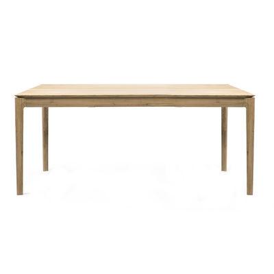 Arredamento - Tavoli - Tavolo con prolunga Bok - / Rovere massello - L 180 a 280 cm / 10 persone di Ethnicraft - 180/280 cm - Rovere - Rovere massello
