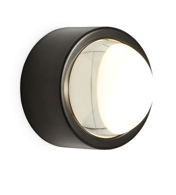 Leuchten - Wandleuchten - Spot Wandleuchte LED / rund - Ø 10 cm - Tom Dixon - Schwarz-glänzend - Glas, rostfreier Stahl