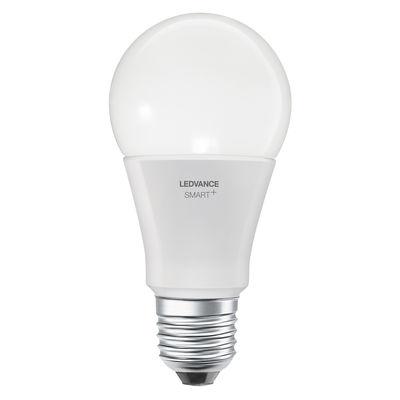 Ampoule LED E27 connectée / Smart+ - Standard 9W=60W - Ledvance blanc en verre