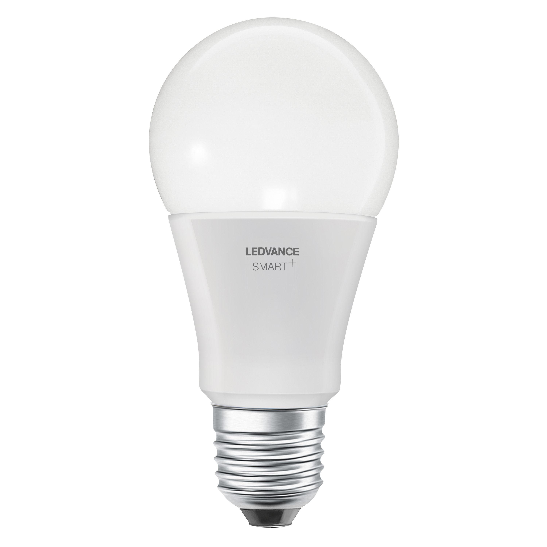Luminaire - Ampoules et accessoires - Ampoule LED E27 connectée / Smart+  - Standard 9W=60W - Ledvance - Blanc - Verre