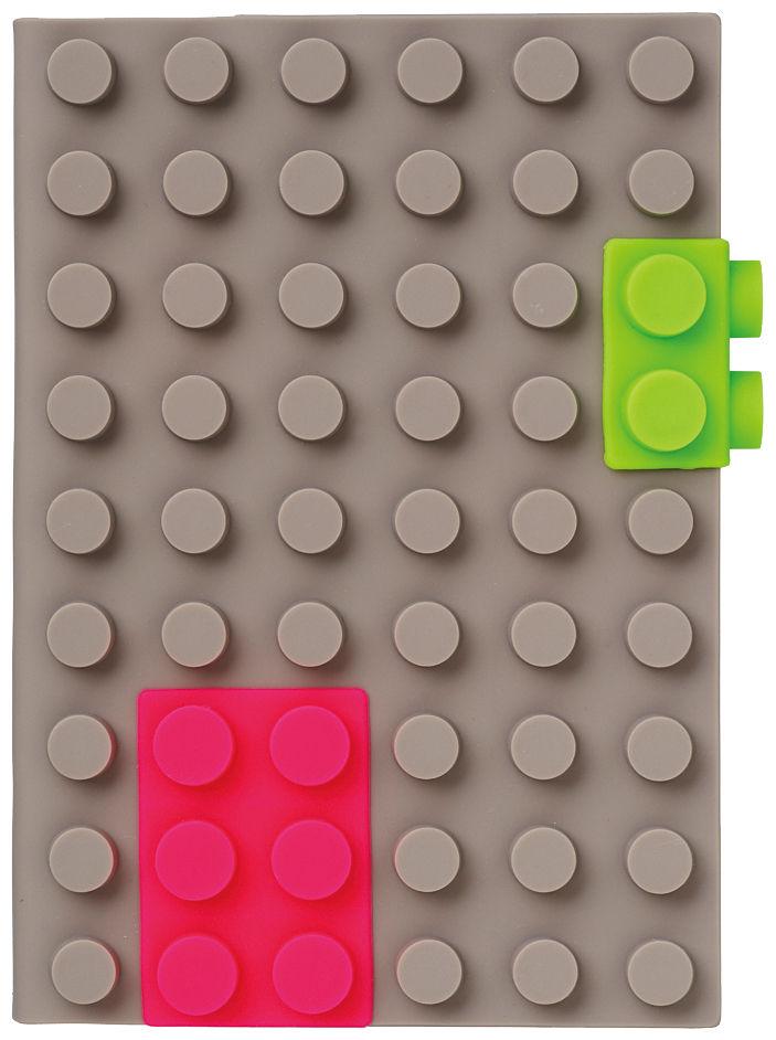 Accessoires - Accessoires bureau - Carnet de notes Silicon A6 - Mark's - Gris - Silicone