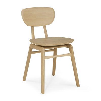 Furniture - Chairs - Pebble Chair - / Solid oak by Ethnicraft - Oak - Solid oak