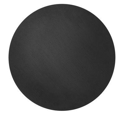 Couvercle pour corbeille Wire / Medium - Ø 50 - Ferm Living chêne noir en bois
