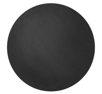 Couvercle pour corbeille Wire / Medium - Ø 50 - Ferm Living noir en bois