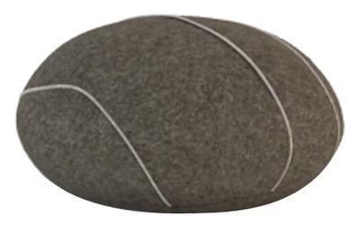 Image of Cuscino Hervé Livingstones - Versione in lana da interno di Smarin - Marrone - Tessuto