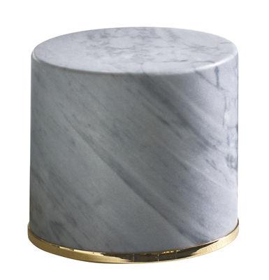 Image of Fermaporta - / Marmo - H 10 cm di Opinion Ciatti - Grigio,Oro - Pietra