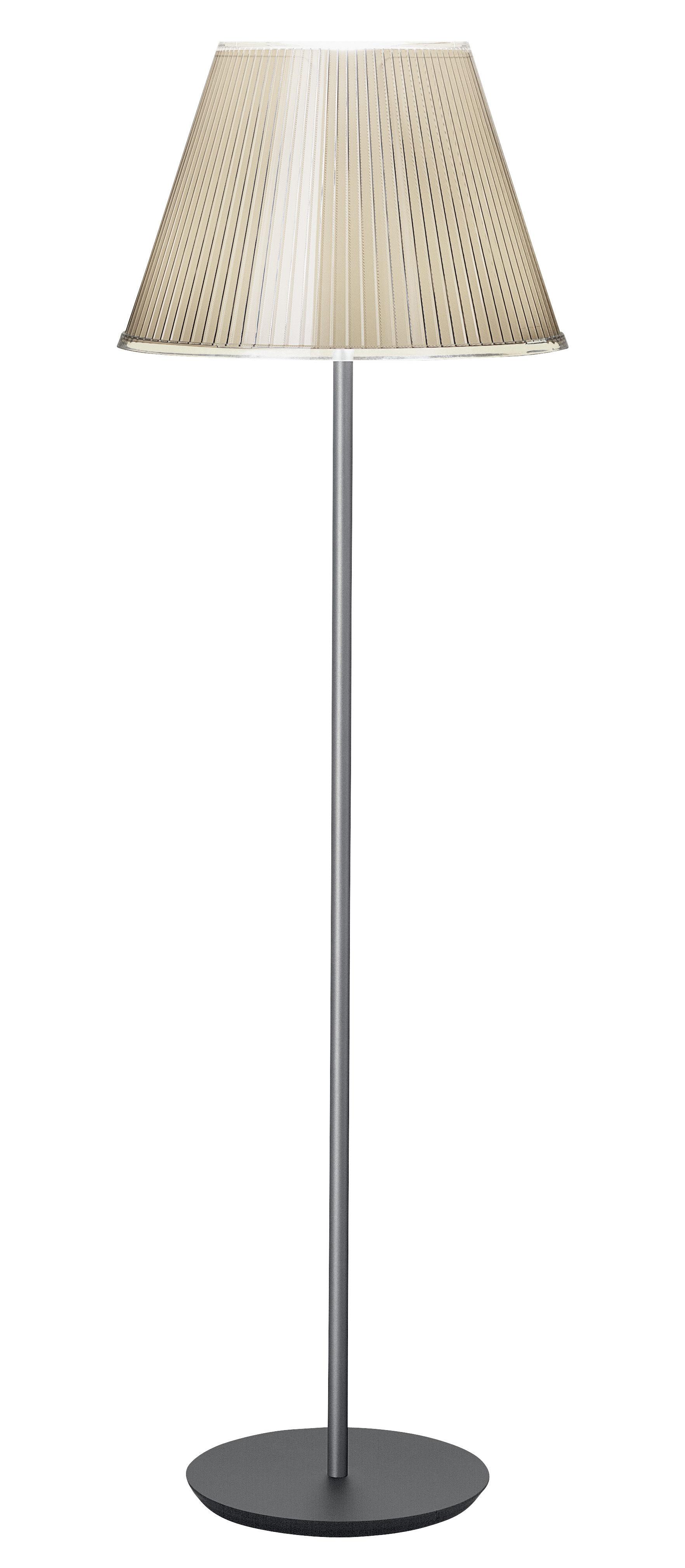 Illuminazione - Lampade da terra - Lampada a stelo Choose di Artemide - Beige / Incandescente - Carta pergamena, Metallo, policarbonato