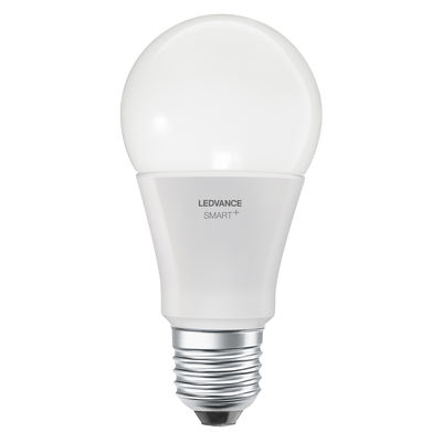 Image of Lampadina LED E27 connessa - / Smart+  - Standard 9W=60W di Ledvance - Bianco - Vetro