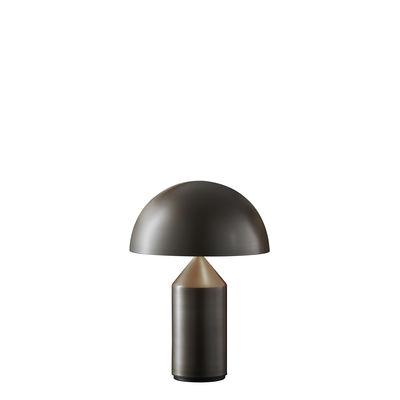 Lampe de table Atollo Small Métal / H 35 cm / Vico Magistretti, 1977 - O luce bronze en métal