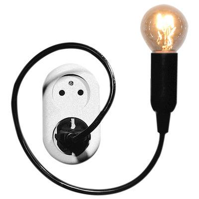 Luminaire - Lampes de table - Lampe Watt lamp - Goods - Pop Corn - Noir - Plastique