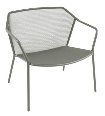 Darwin Lounge Sessel / Metall - Emu - Grau