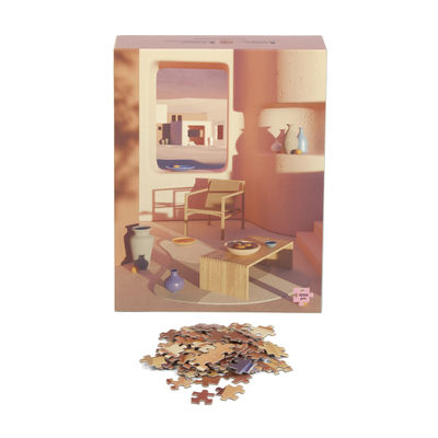 Puzzle Adobe Interior / 1000 pièces - Slowdown Studio rose en papier