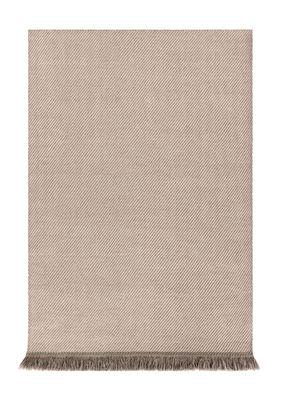 Decoration - Rugs - Garden Layers Rug - / 180 x 240 cm by Gan - Diagonals / Almond & ivory - Polypropylene