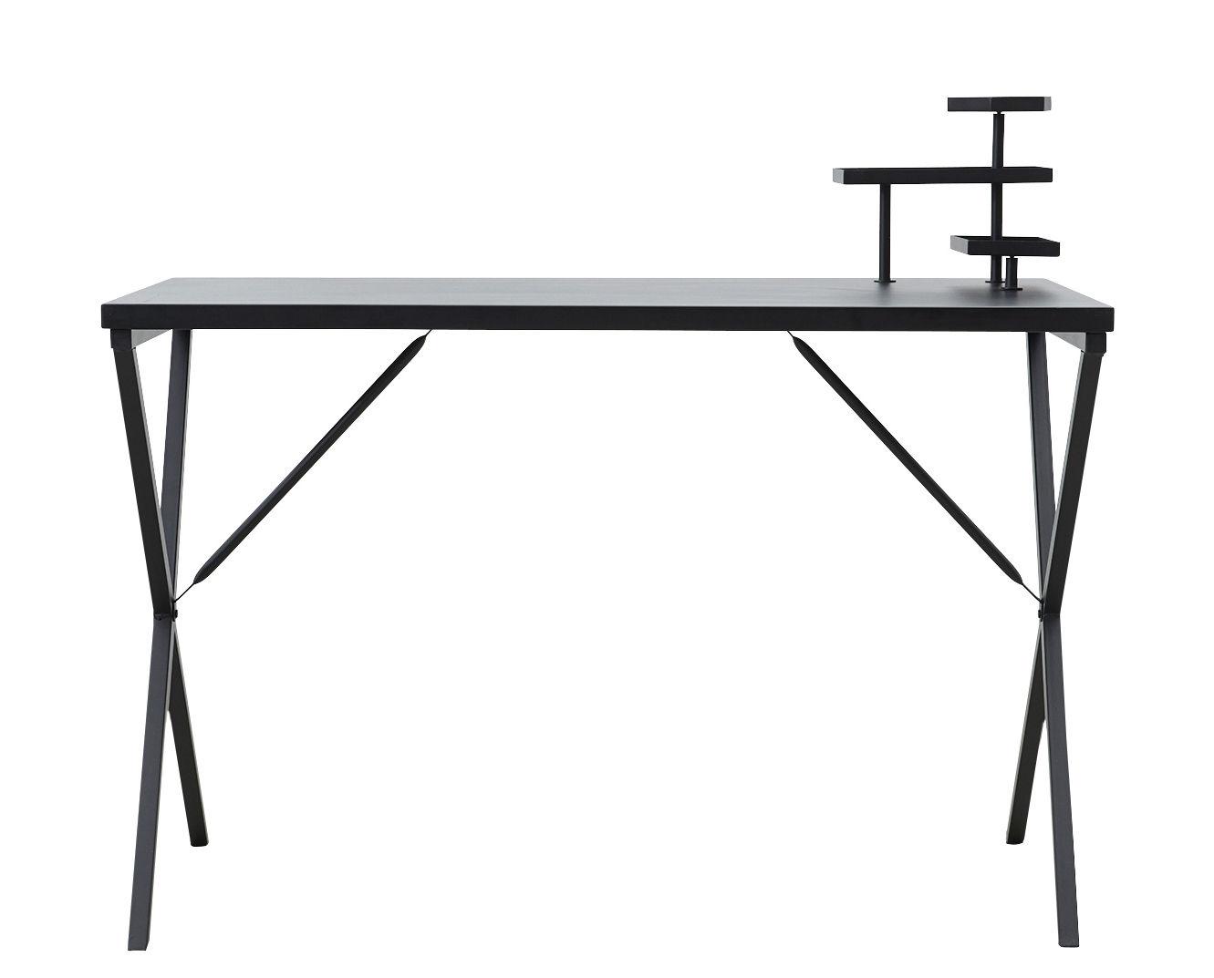 Tray Schreibtisch Metall L 120 Cm Schwarz By House Doctor