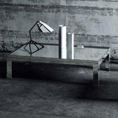 Table basse Mirror Mirror 130 x 70 cm - Glas Italia métal en verre