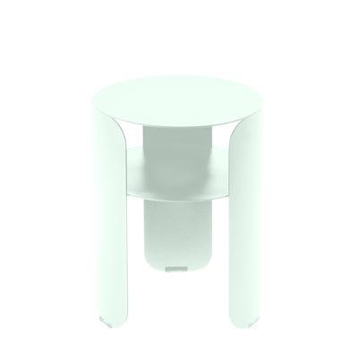Mobilier - Tables basses - Table d'appoint Bebop / Ø 35 x H 45 cm - Fermob - Menthe glaciale - Aluminium peint